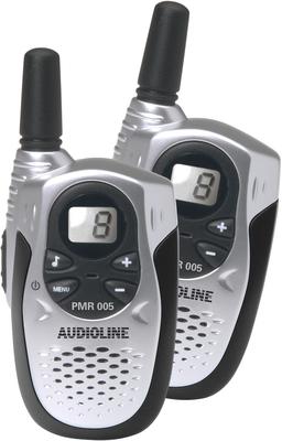 audioline pmr 005 3 km reichweite walkie talkie pmr. Black Bedroom Furniture Sets. Home Design Ideas